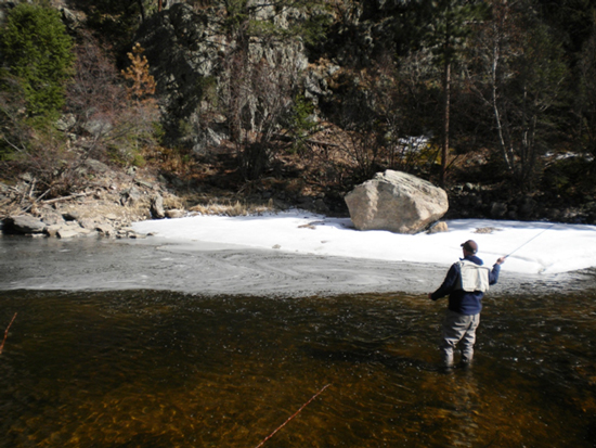 When fishing in colorado with dry flies you should have plenty of dry flies.