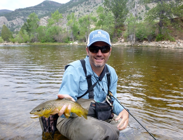 Guides report good fly fishing on the cache la poudre for Colorado river fishing report