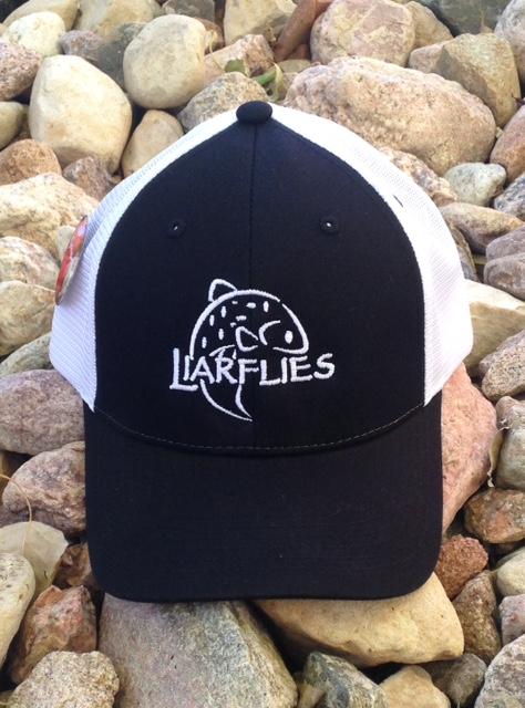 Liarflies Black Big Fish Trucker Hat