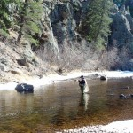 Picking the right fly for The Big Thompson River
