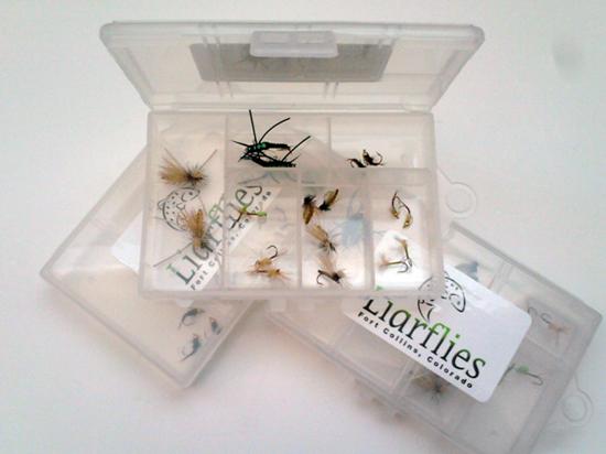 Liarflies-Cache La Poudre Fly Collection.