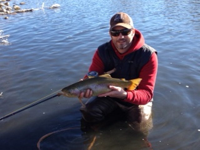 Learn to cast a switch rod on the Cache La Poudre River