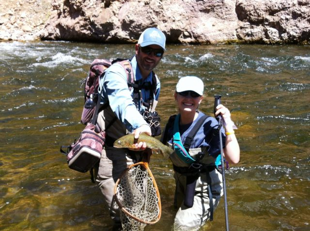 Beginner Fly Fishing Lessons in Colorado
