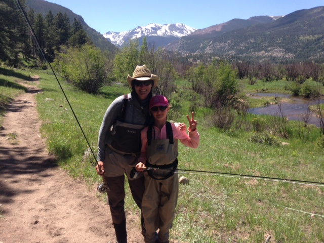 Fly Fishing Classes in the Rocky Mountain National Park