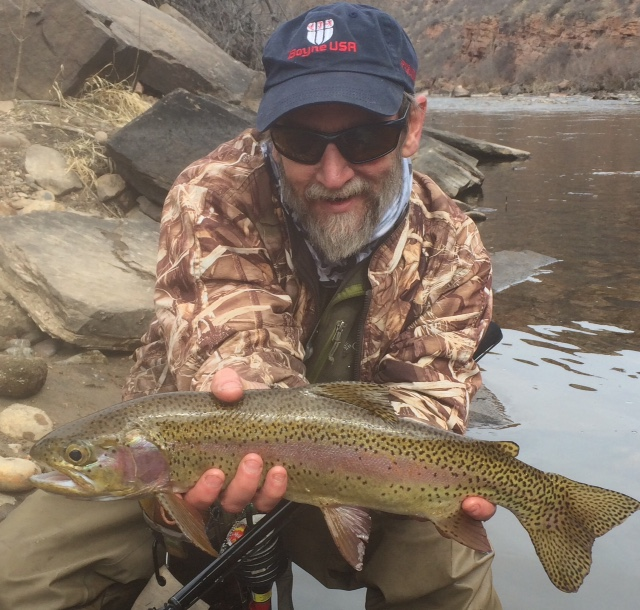 Dry Fly Fishing on the Cache la Poudre in Fort Collins, Colorado
