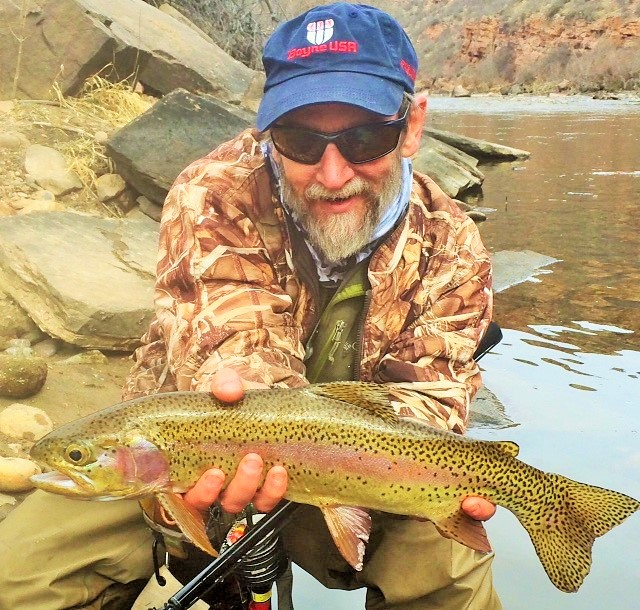Learn How to Fly Fish the Cache La Poudre River in Winter.